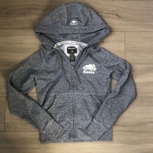 Roots Zip Up Hoodie